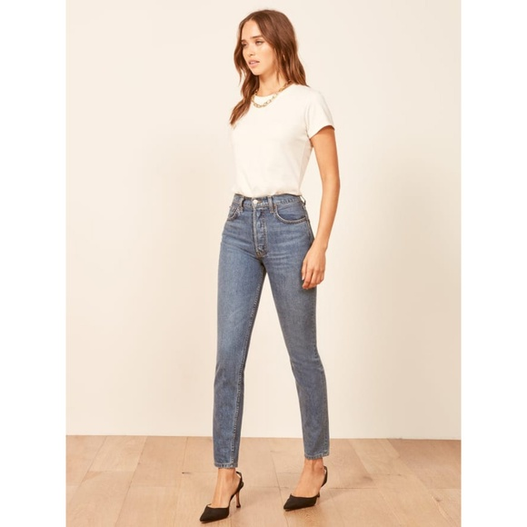 a4e1aa066189cc Reformation Jeans | Melissa High Skinny Baltic | Poshmark